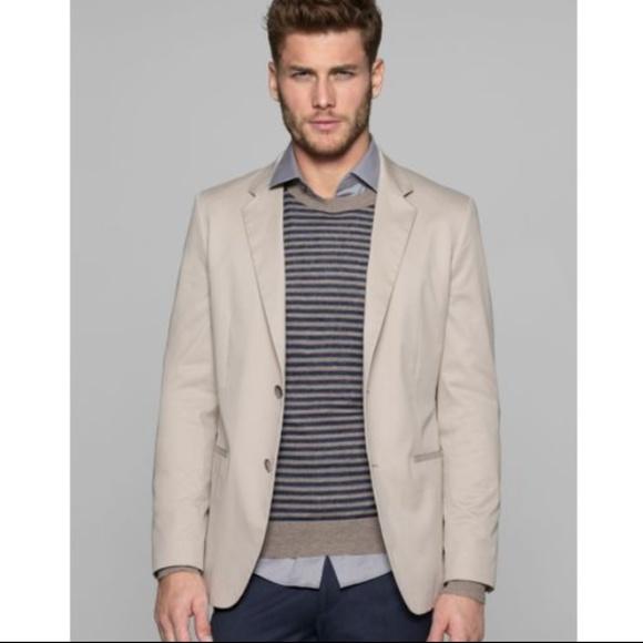 e45666f0ca Theory Suits & Blazers | Beige Kris Hl Balance Sport Coat Blazer ...